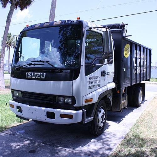 Junk Removal Truck - Robinsons Junk Butler